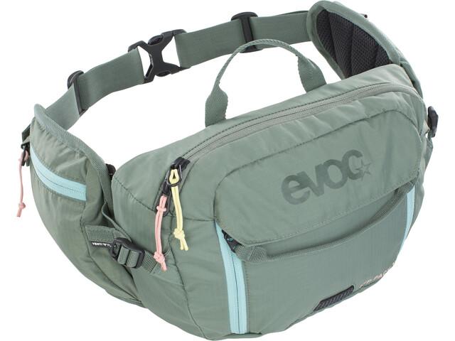 EVOC Hip Pack 3l + Bukłak 1,5l, oliwkowy
